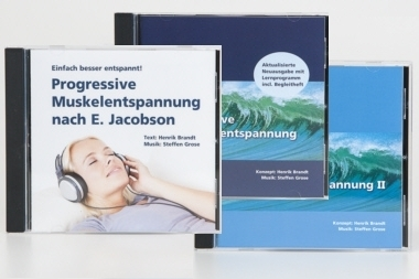 Jacobson Muskelentspannung  (3 Audio-CDs im Bundle)